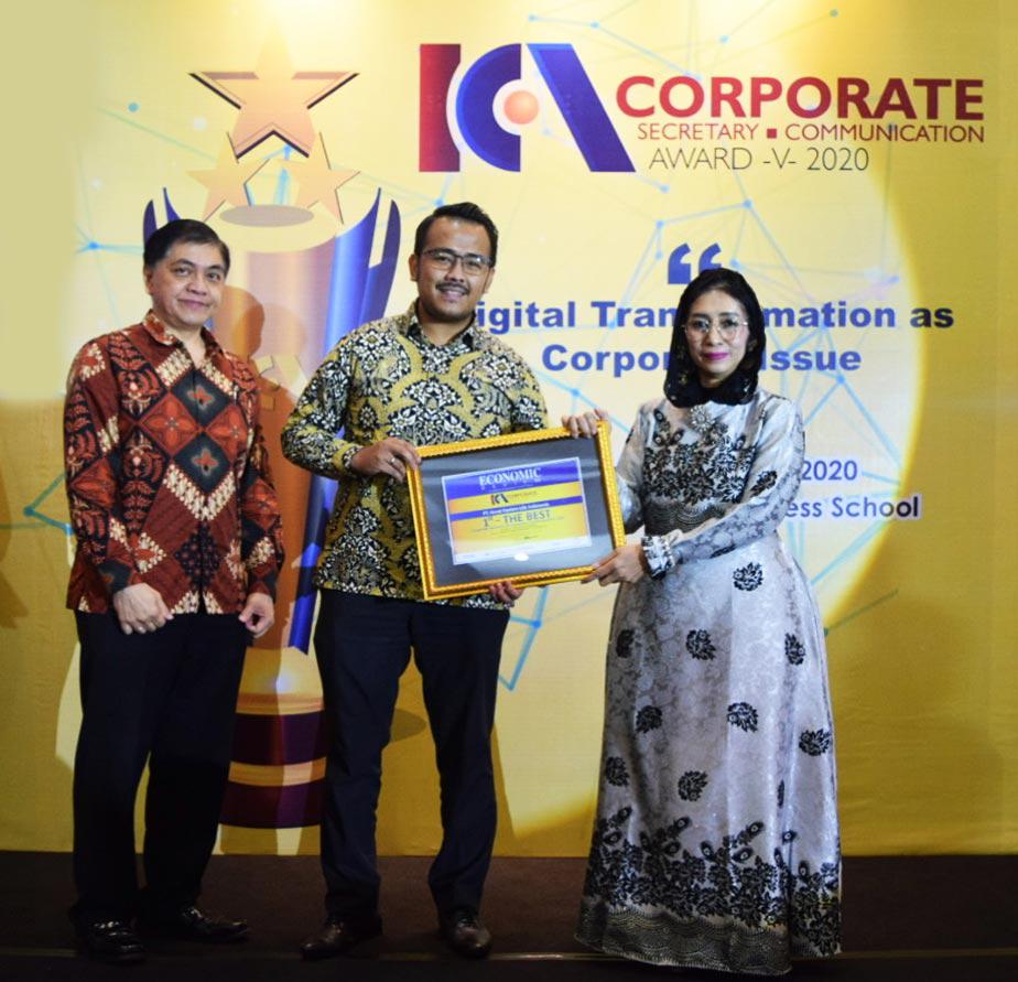 The Best Indonesia Corporate Secretary & Corporate Communication 2020 Award