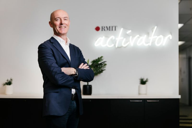 Adam Seedsman, Director of RMIT Activator and Executive Director of Global Partnerships and Engagement