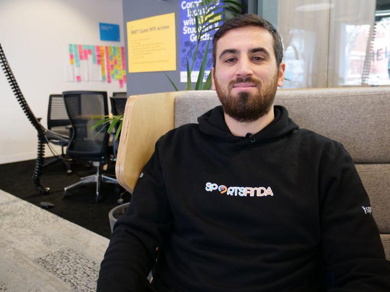 Sportsfinda founder.