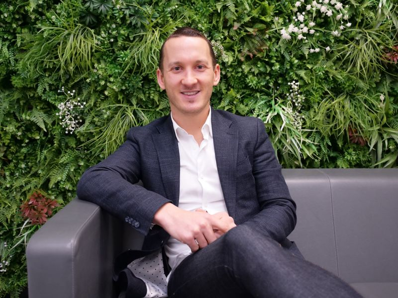 Swiftchat founder Andrew Picken.