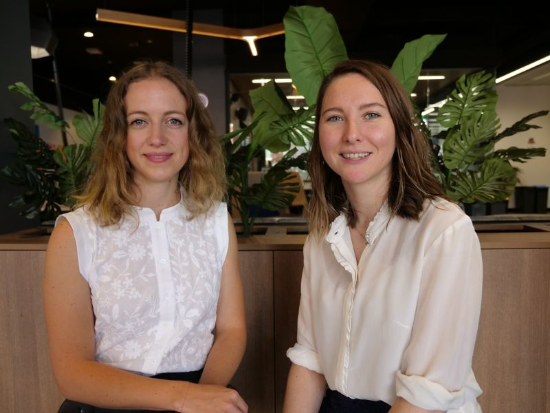 Work Shop Studio founders.