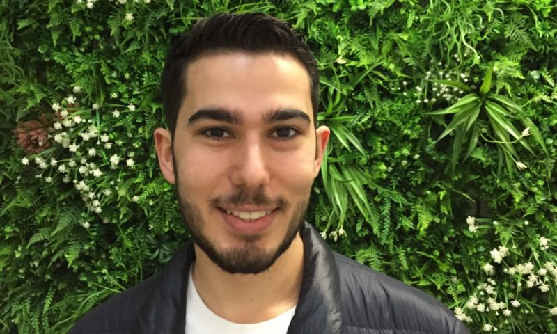 Photo of Adam Kostarelas, co-founder of startup Trunked