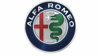 Alfa Romeo logo.