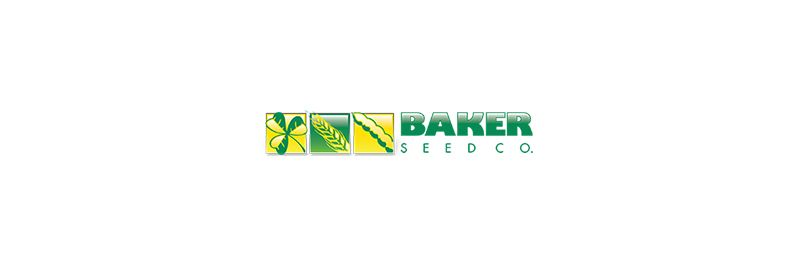 Baker Seed Co logo.