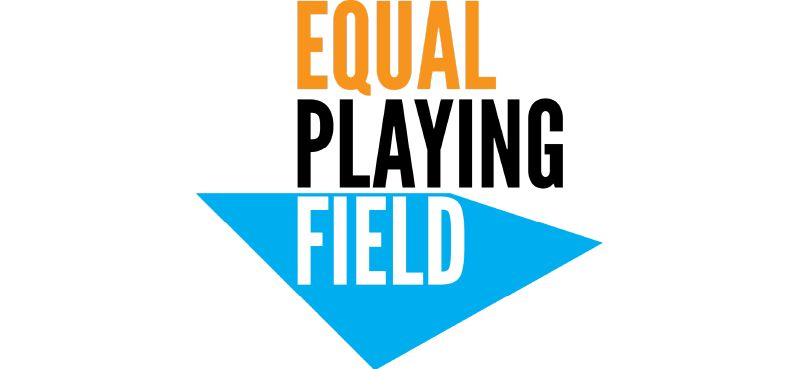 Equal playing field.
