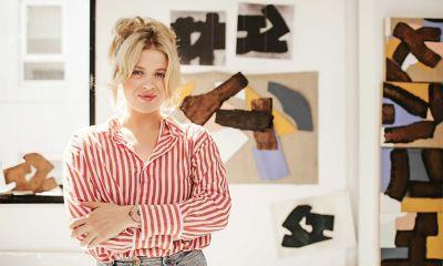 Olivia in RMIT art studio