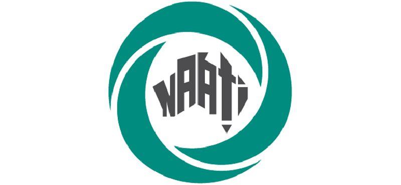 NAATI logo.