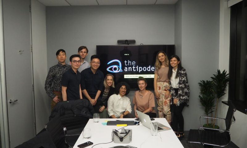 RMIT students and staff at start-up The Antipodean