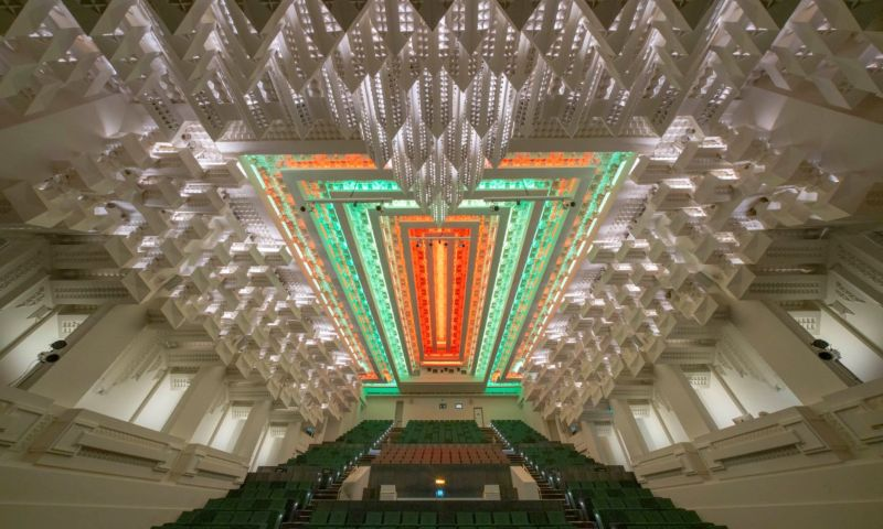 The Capitol ceiling and theatre, 2019. John Gollings photographer..