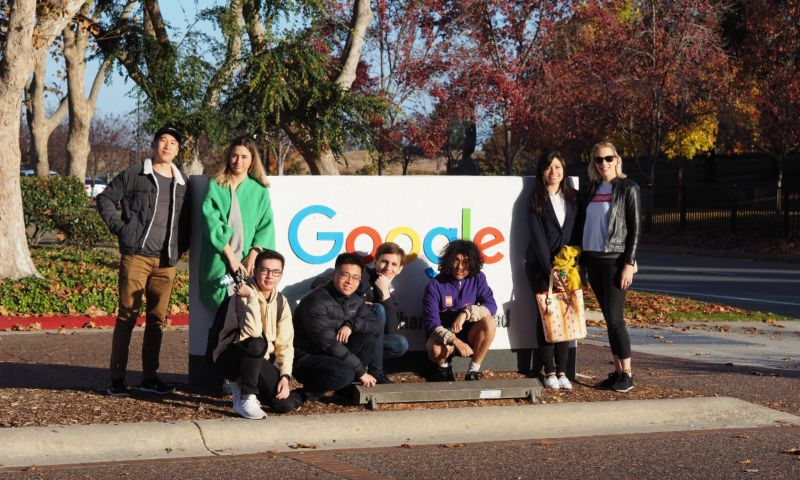 RMIT students visit Google offices in San Franciso
