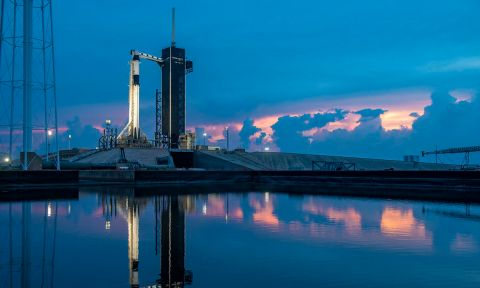 The SpaceX rocket launched from the Kennedy Space Center in Cape Canaveral, Florida. Credit: Official SpaceX photos
