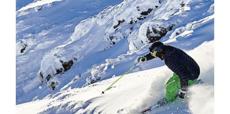 Ski sport. Snow.