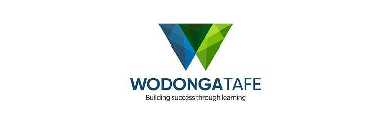 Wodonga TAFE logo.