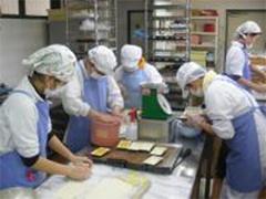 "Doing work at ""Castanet"" run by the social welfare service organization Hanamizukinokai"