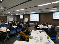 A human rights workshop held in Japan in FY2017