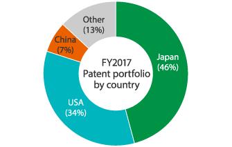 Global patent portfolio