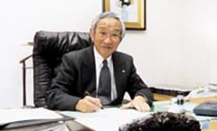 Then President Tadashi Okamura signed the Global Compact in January 2004.
