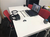 Equipment used in the virtual reality space