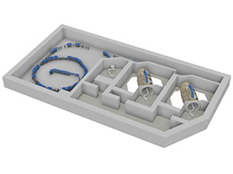 An image of the heavy ion therapy system